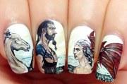 gorgeous nail art design inspired