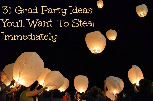 31 grad party ideas
