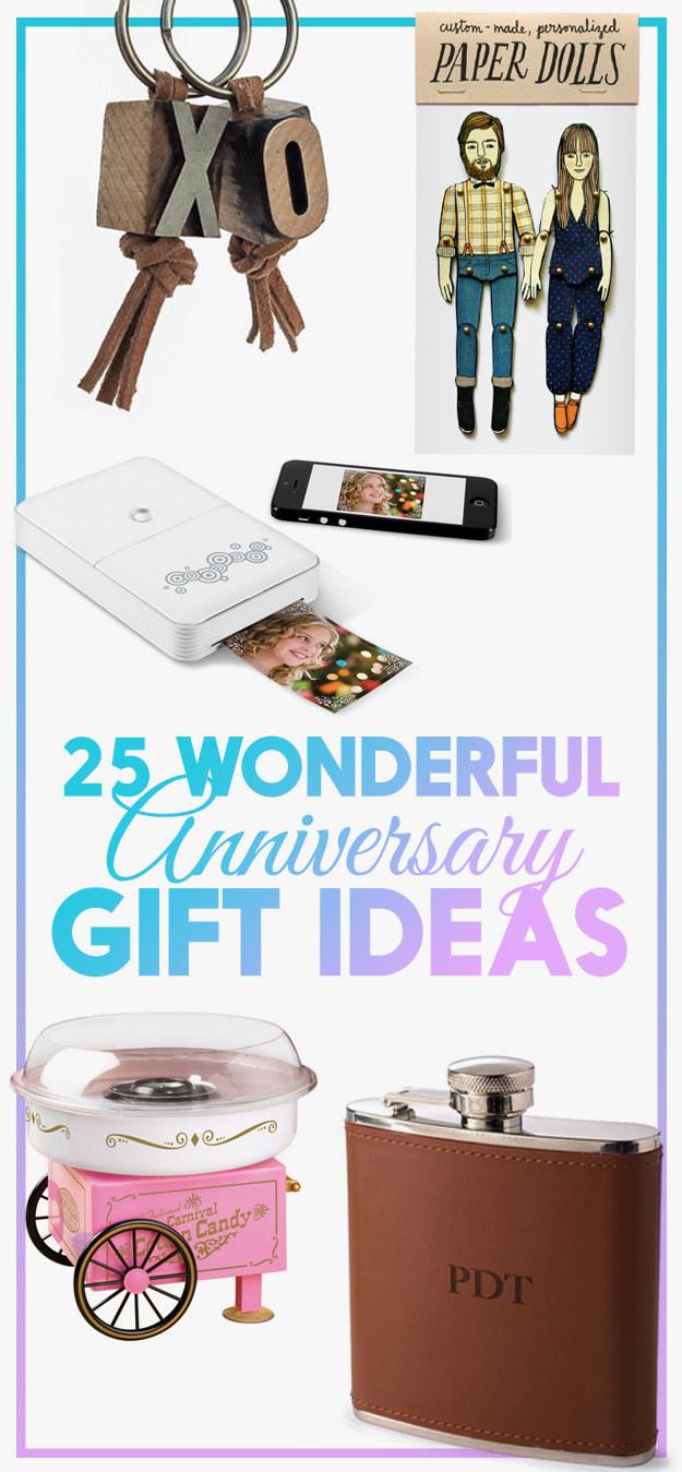 anniversary gift ideas that