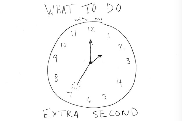 36 Things To Do With An Extra Second
