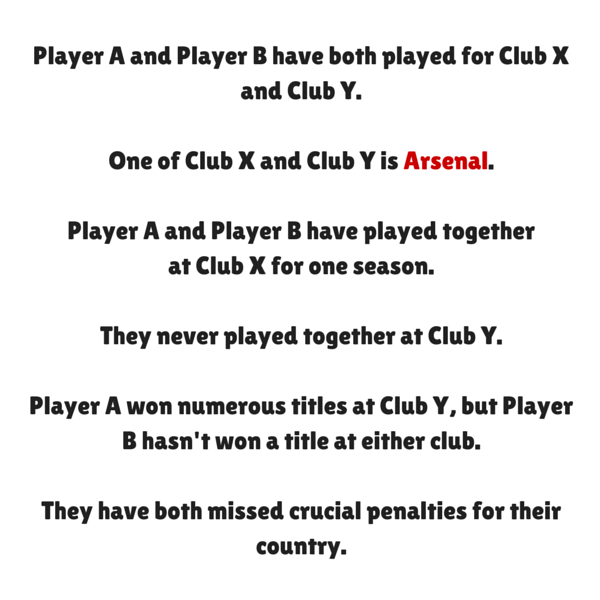 Can You Find The Answer To This Tricky Arsenal Trivia