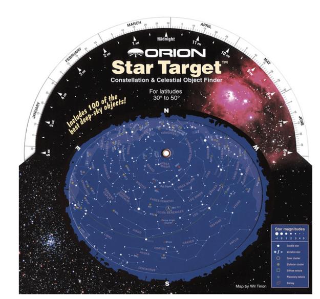 Um alvo de estrela que te ensina segredos da galáxia.