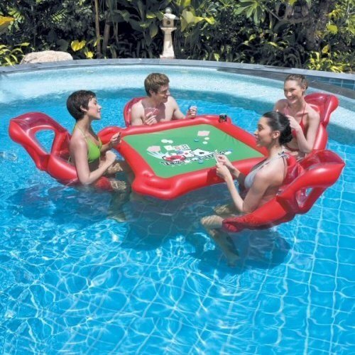 4 this floating game night game changer - Crazy Swimming Pools
