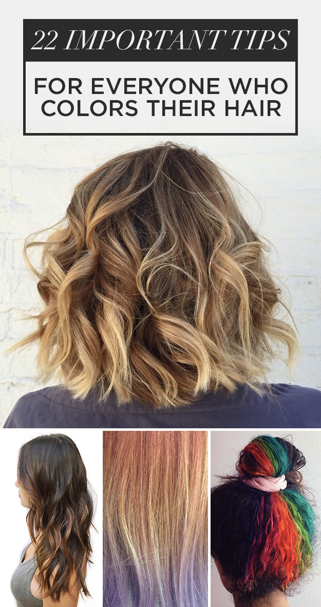22 hair color tips