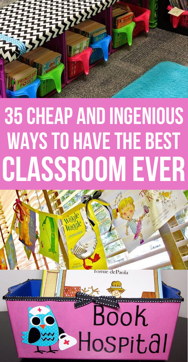 classroom organizer chair covers wooden spool 35 cheap and ingenious ways to have the best ever share on facebook