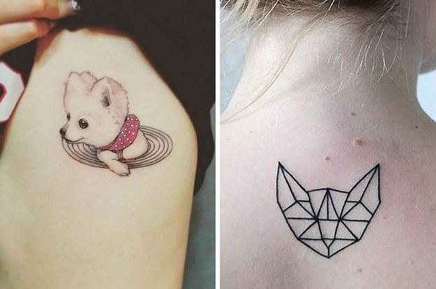 44 Delicados Tatuajes Para Demostrar Tu Amor Infinito Hacia Tu Mascota