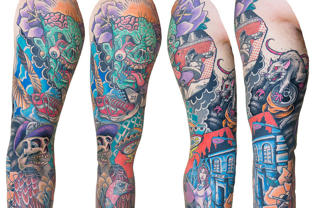 27 Tatuajes De Manga Que Son Básicamente Obras De Arte