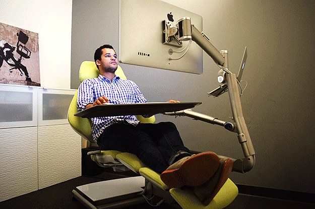 This Is The Office Chair Of The Future And It Looks Crazy