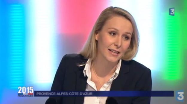 «C'est pas lui, Monsieur. C'est pas lui», rétorque Marion Maréchal-Le Pen.
