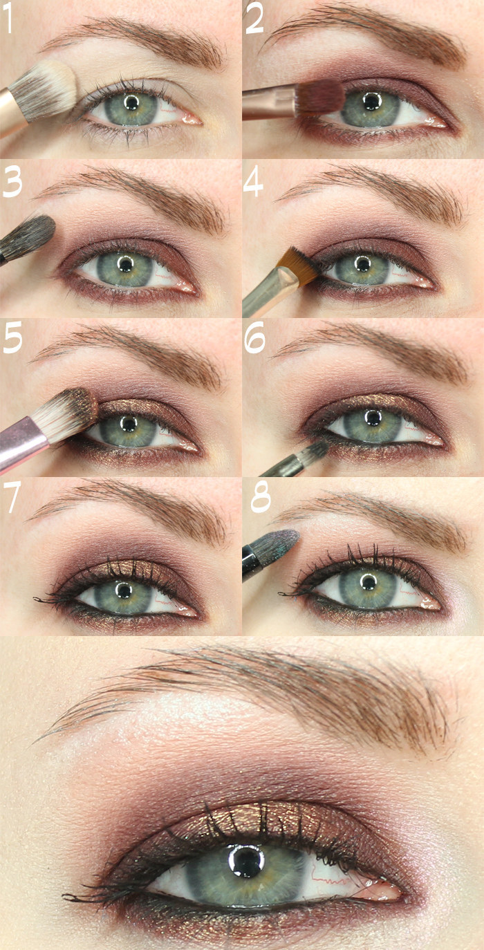 it s best to apply makeup with your eyes open because it can be hard to find your natural crease with your eyes closed  [ 700 x 1374 Pixel ]