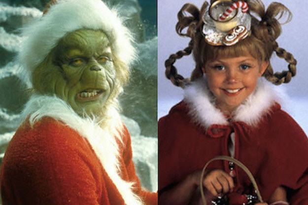 Which How The Grinch Stole Christmas Character Are You