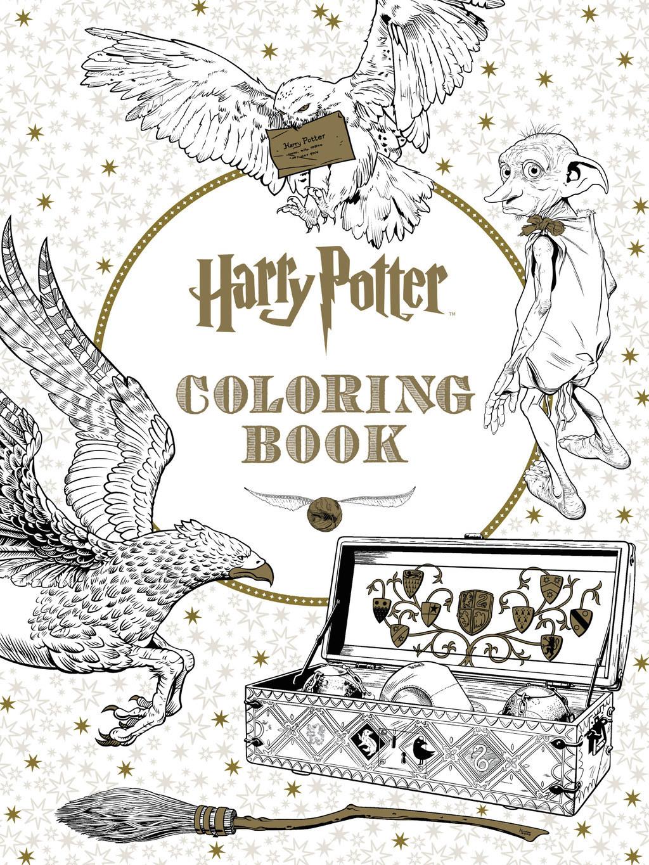 Harry Potter Coloring Book Secret Garden