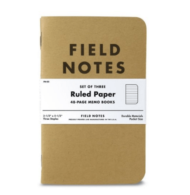 And keep it all in the same notebook.