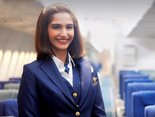 Sonam Kapoor plays her in an upcoming biopic titled Neerja.