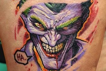 35 Tatuajes Del Guasón Que Te Harán Sonreír