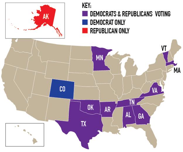 El fundamento por el cual este martes es tan súper es por los cuantiosos territorios que votan: