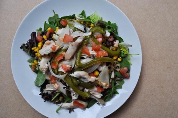 Tuesday: Chicken Fajita Salad