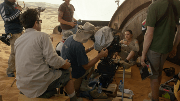 The audition that clinched Daisy Ridley the role of Rey was her interrogation scene with Kylo Ren.
