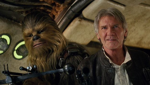 "The production spent one whole day on the ""Chewie, we're home"" scene."