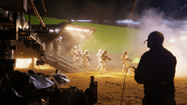 Abrams insisted that some of the stormtroopers should be played by women.