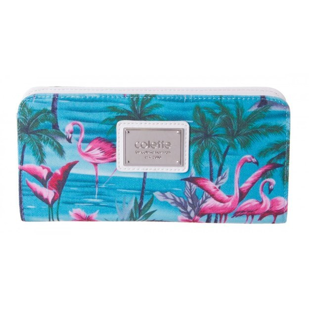 This summery wallet that's pretty and functional: