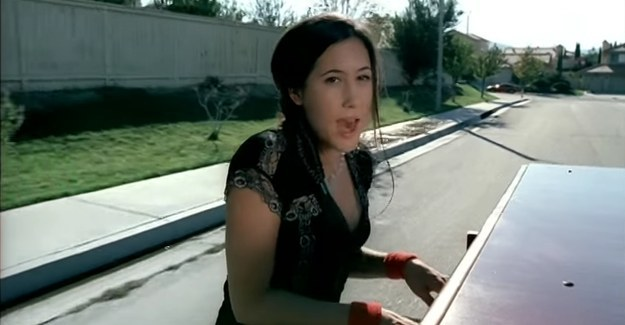 "She's most known for her piano-driven early-'00s hit song, ""A Thousand Miles."""