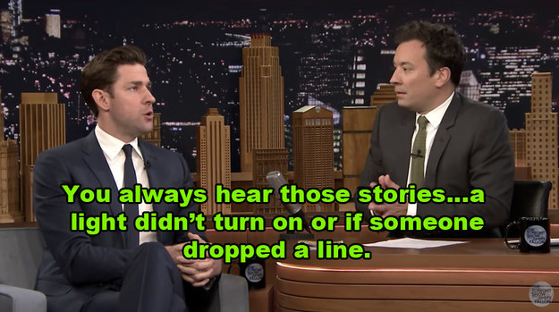 Host Jimmy Fallon brought up things that usually go wrong during a live production...