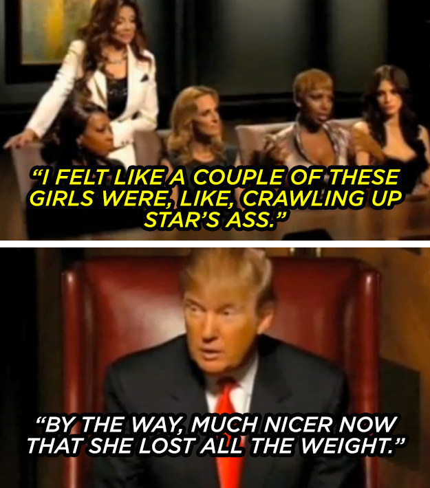 The time he presidentially joked about the relative niceness and acceptability of Star Jones' ass.