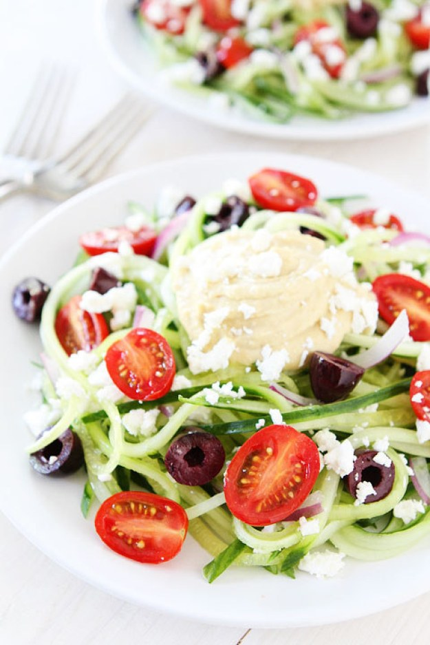 Greek Cucumber Noodles