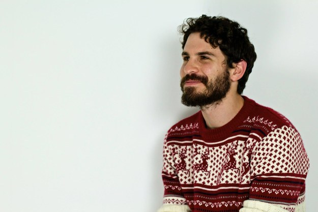 With his dark curls and scruffy beard, he's been told before he looks like Jon Snow (Kit Harington) from HBO's Game of Thrones.