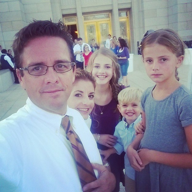 """Bagley told BuzzFeed News that his daughter is a """"confident and funny"""" teen, and he and his wife love to be involved in her activities. But when it came to Beth's school dance last week in Utah, the teen asked them (nicely) to stay away."""