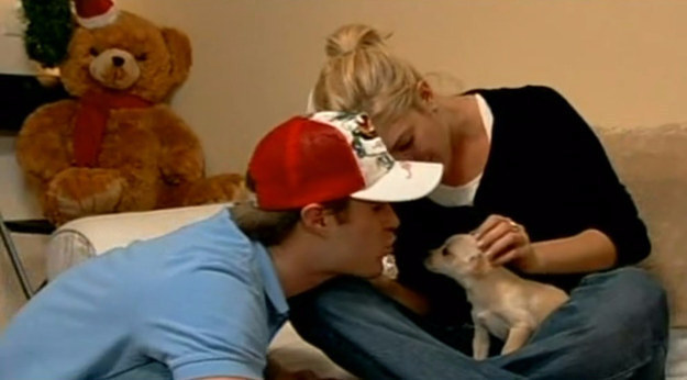Speaking of cast members, what happened to Brian, Jordan, and the dog that Jordan gave you for Christmas?