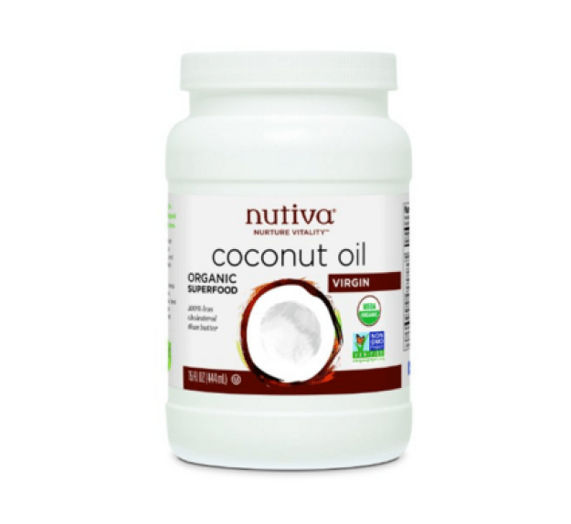 This huge tub of not-expensive cold pressed coconut oil that you can use for food/body/hair care purposes ($10.67).
