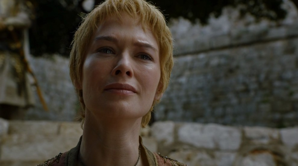 "Moments later Cersei looks to be back in full-on ""I will fuck you RIGHT up"" mode."