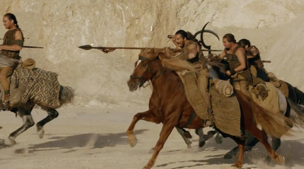 Don't worry, we're nearly at the end. Just time for some angry Dothraki.