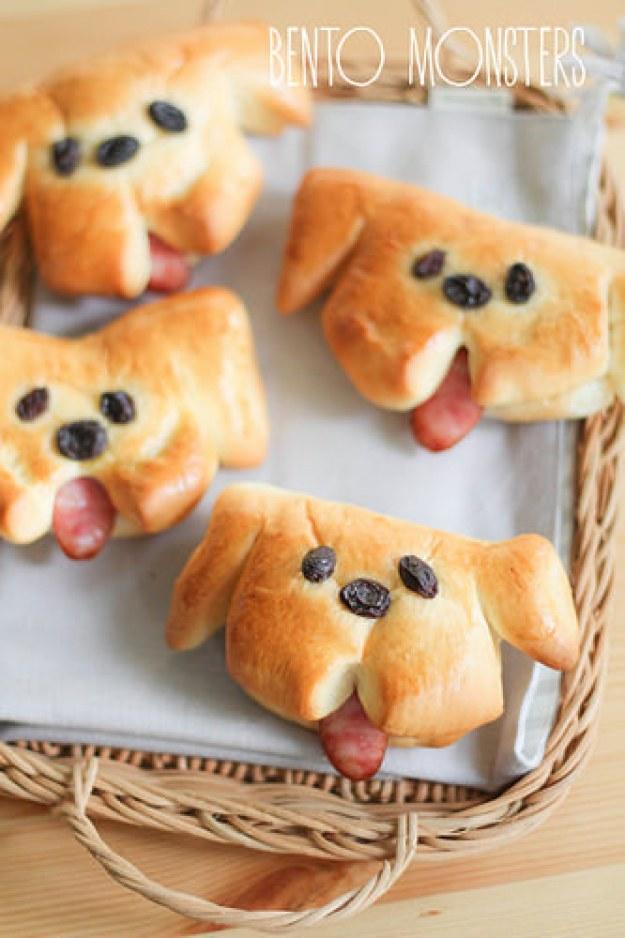 Doggy Sausage Bread Bun