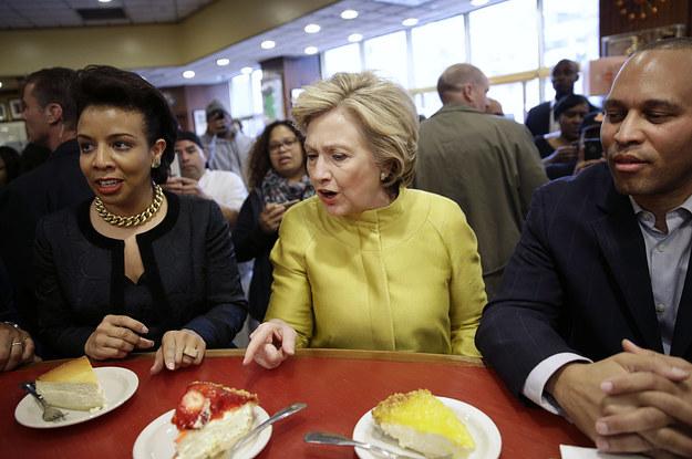 hillary clinton vs cheesecake