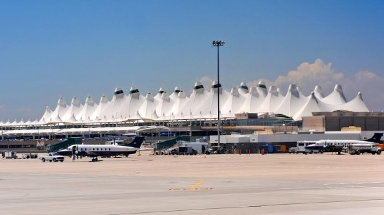 When Denver International Airport opened on Feb. 28, 1995, construction had fallen 16 months behind schedule, and $2 billion over budget. The final cost of the Denver airport was $4.8 billion, which is a lot of money. People wondered what it had gone toward. The airport itself is 35,000 acres, which is almost twice as large as the next biggest U.S. airport.