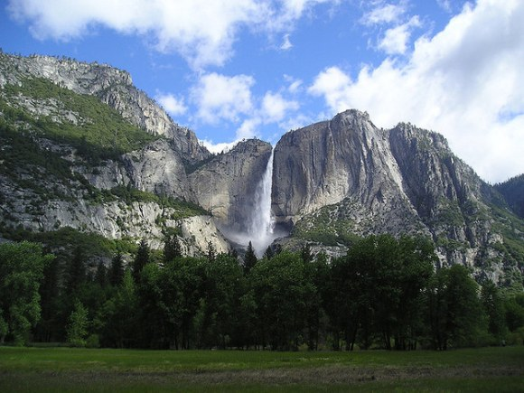 Waterfalls in the US: