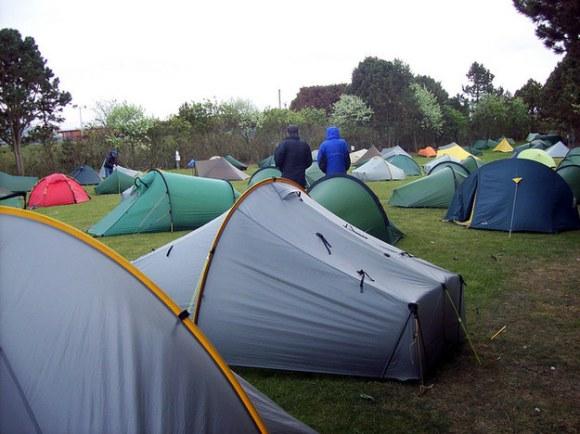 Campsites in the UK: