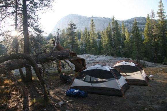 Campsites in the US:
