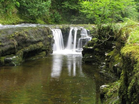 Waterfalls in the UK: