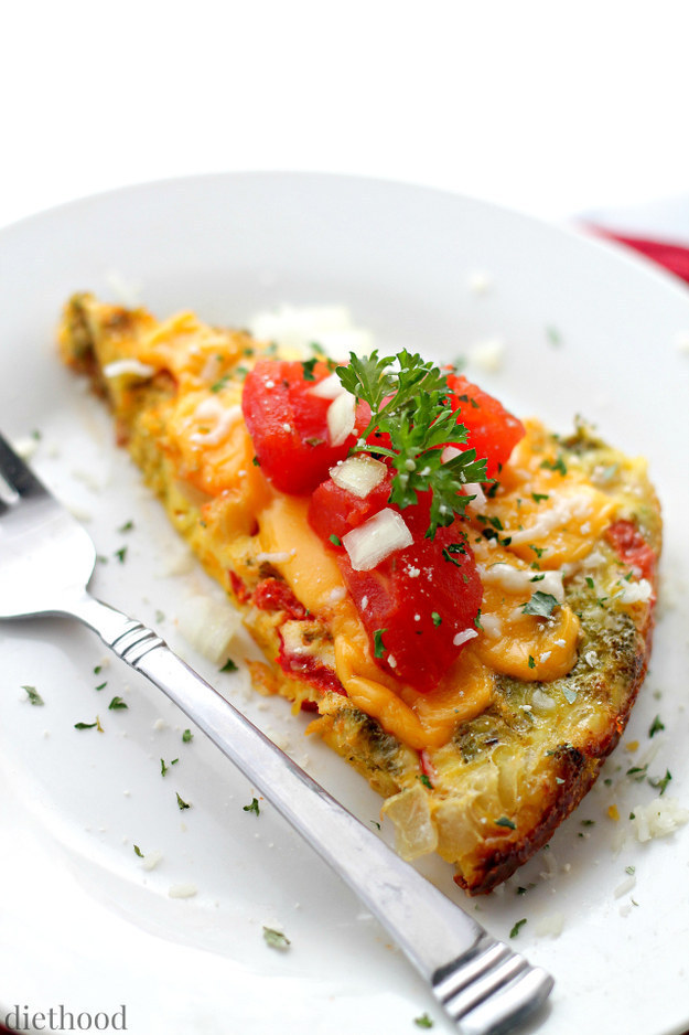 Family-Size Veggie Omelet