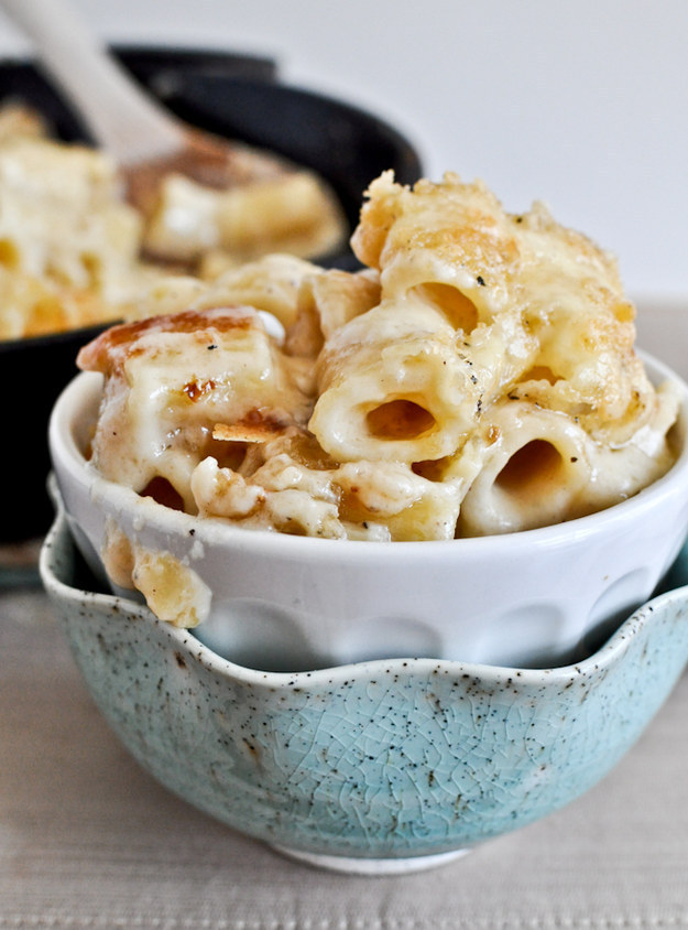 Four Cheese Baked Rigatoni