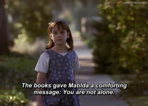Little Mara Wilson is responsible for giving book lovers everywhere one of the greatest gifts of our childhood.