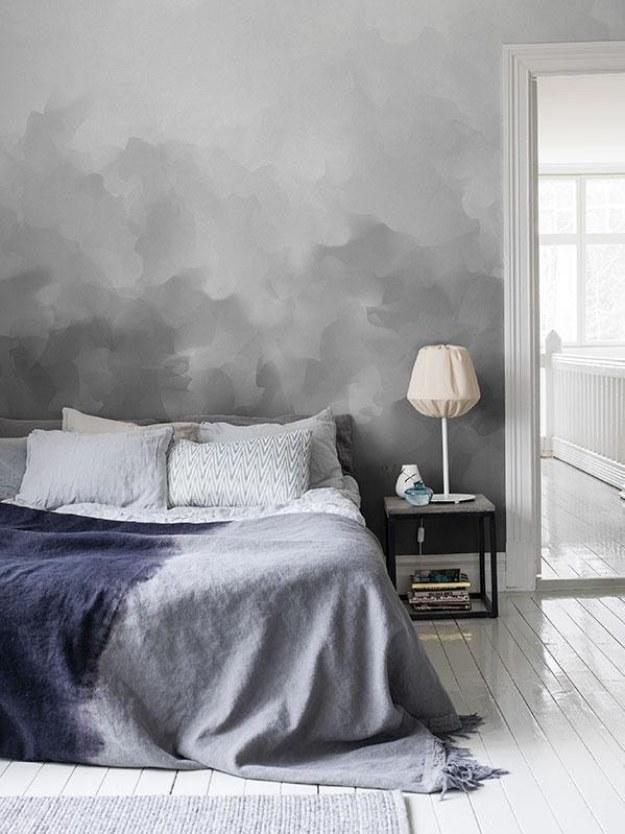¿Amas los días nublados? Pinta una pared con tonos grises y así los vivirás siempre. Neutralidad y elegancia.