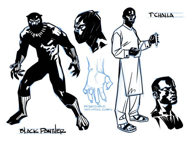And now, after months of excited waiting, the time has come: Black Panther #1 goes on sale April 6.