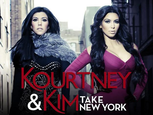 Kourtney & Kim Take New York.