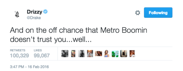 We sing it, we joke about it, but have you ever wondered if Metro Boomin trusts YOU? Time to find out.