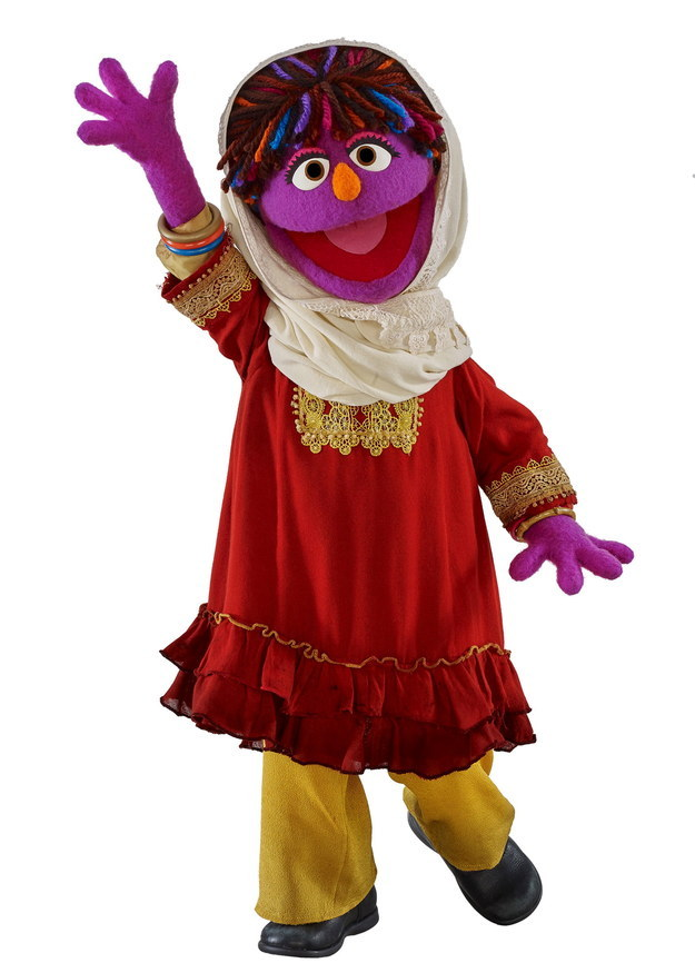 The children's TV show Sesame Street has introduced a new character: Zari, a 6-year-old girl from Afghanistan.